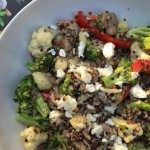Quinoa-vegie-pilaf