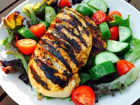 Grilled chicken 3