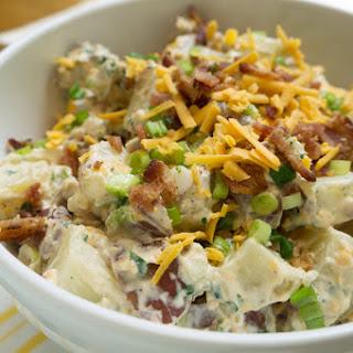 Savoury potato salad